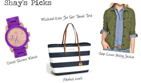 Shay's Mother's Day Picks