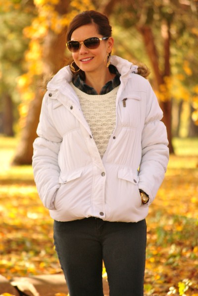 Jacket Sweater Plaid 2