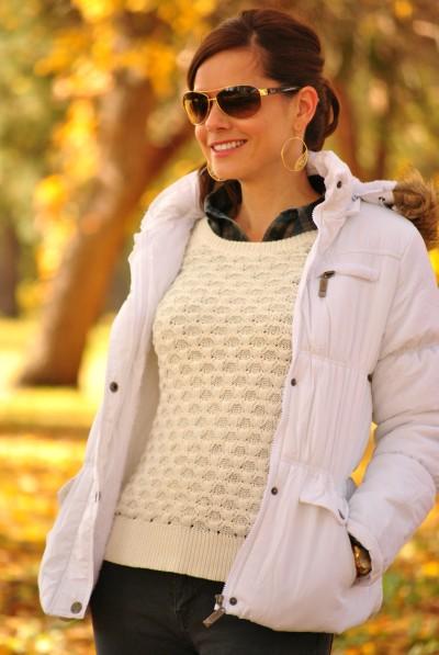 Jacket Sweater Plaid 3