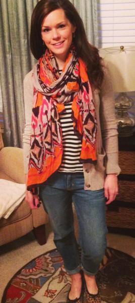 021414-boyfriend-cardigan-striped-scarf
