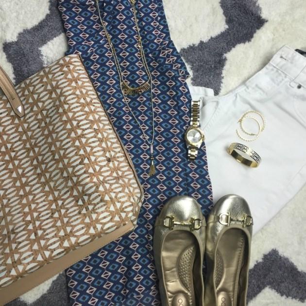 white-jeans-print-blouse
