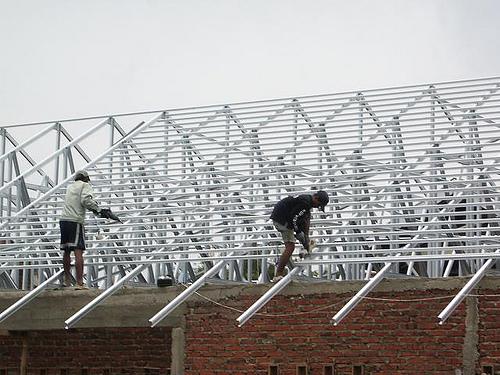 pasang atap baja ringan bekasi harga jati asih 0813 9746 5507