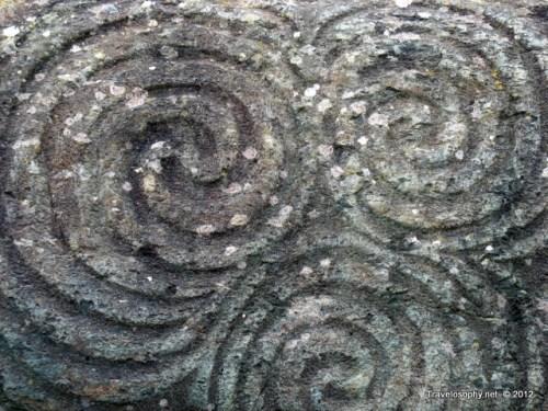 Neolithic Art, Entrance Stone, Newgrange, Co. Meath, Ireland