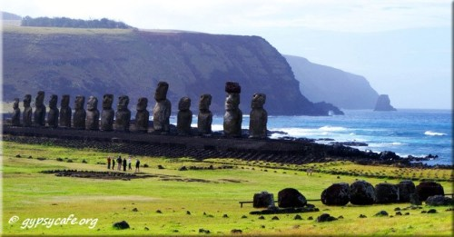 Tongariki Moai - Easter Island