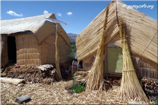 8. Reed Huts - Uros Island