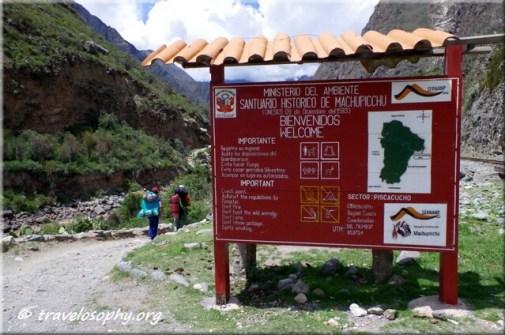 Inca Trail View 1