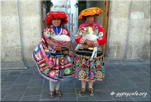 Traditional Peruvian Women