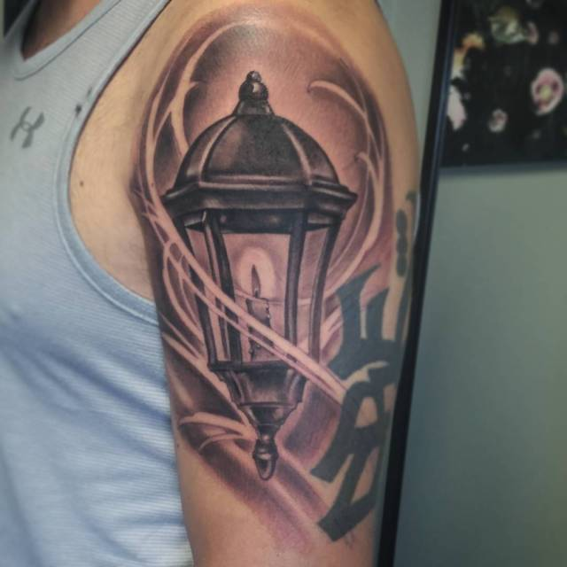 Heres a cool lantern I added today to this soonhellip