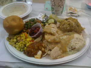 Free Thanksgiving dinner at a Presbyterian Church