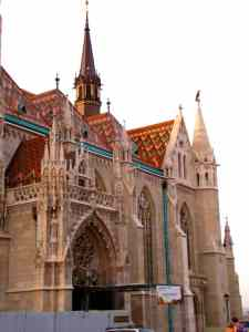 Gypsycouple Budapest Guide - Matthias Church in Buda Castle