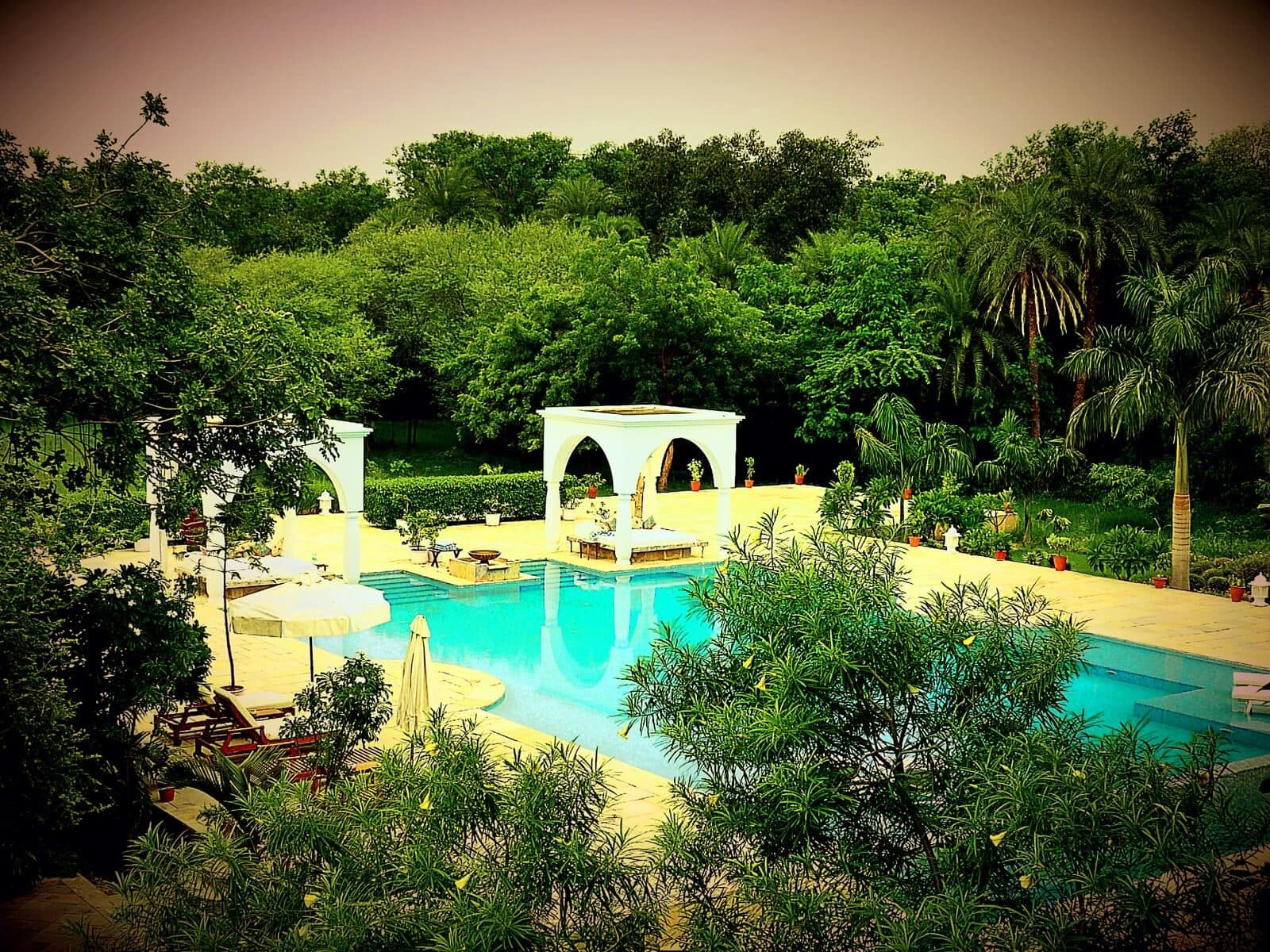 The Pool at Shahpura Bagh