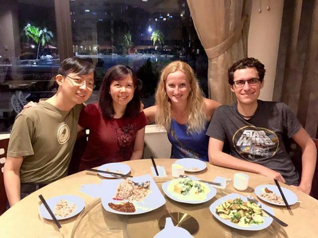 singapore dinner