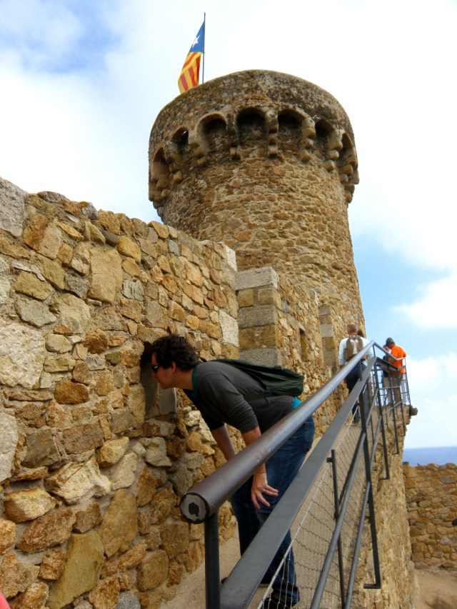 castell tossa de mar spain
