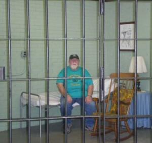 Nick in Otis jail cell web