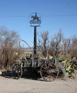 Cornudas wagon web