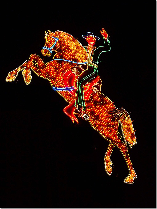 Neon Cowboy sign