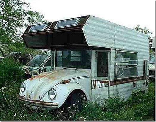 vw camper bug