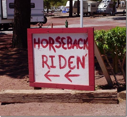 Horseback Riden KOA 2