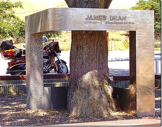 James Dean memorial