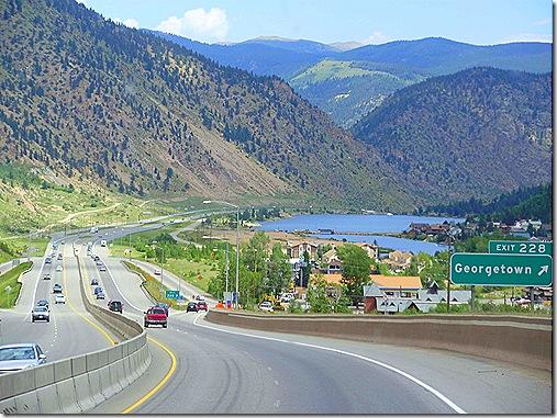 Interstate 70 downhill 7
