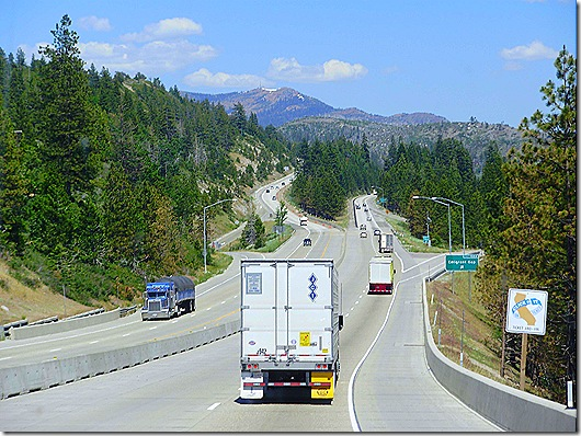 Interstate 80 across Sierras 2