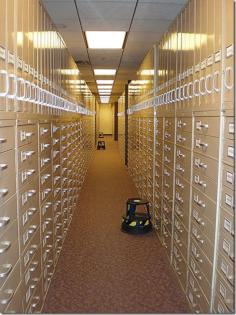 Microfilm cabinets 2