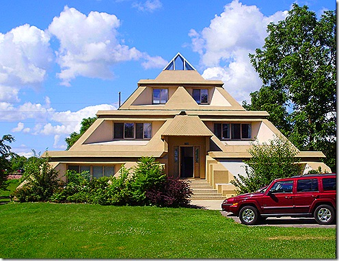 Pyramid House Clear Lake Iowa