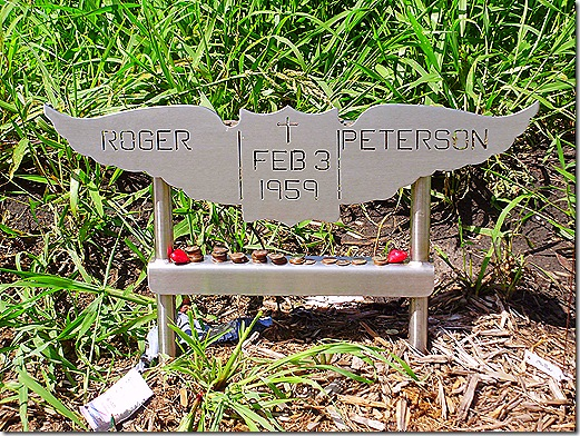 Roger Peterson memorial