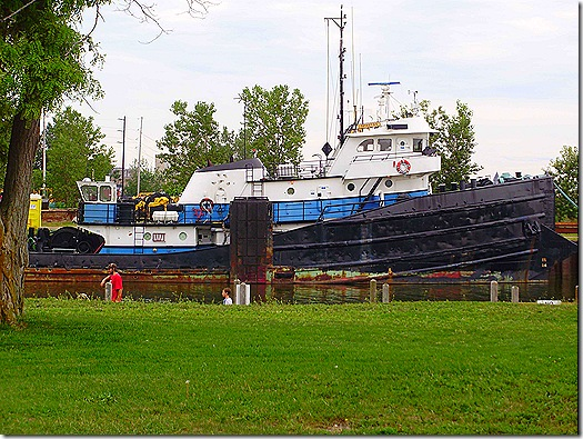 Michigan tugboat