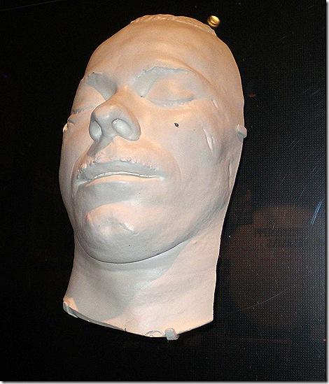 Dillinger death mask