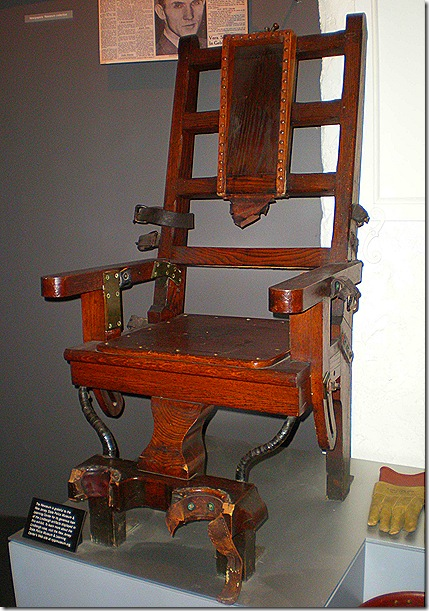 Lindbergh electric chair