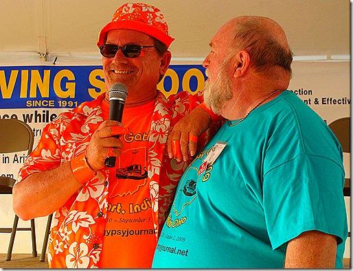 Orange Dennis and Nick