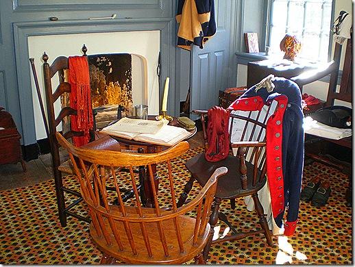 Washingtons quarters sitting room