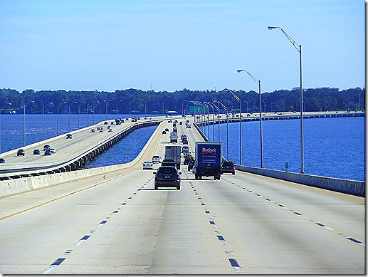 I 295 bridge downhill