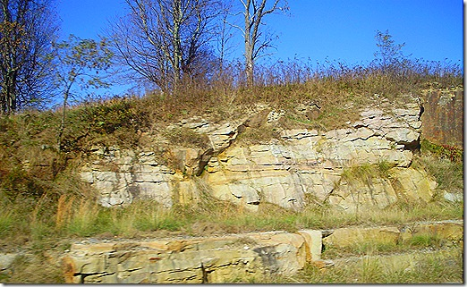 West Virginia rocky hillside 2