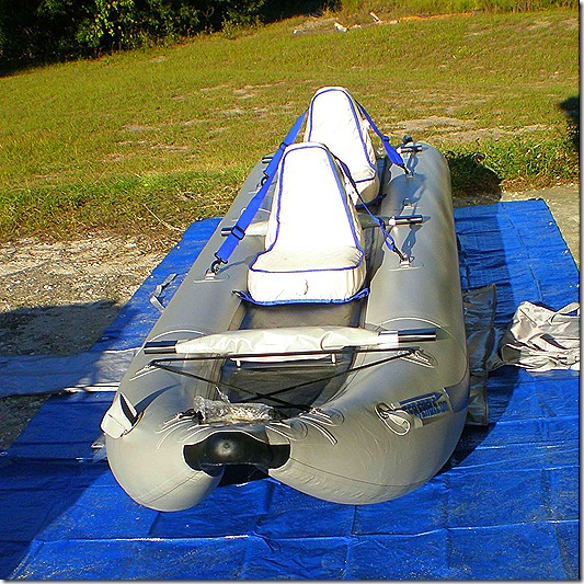 Boat 2 seats in 3