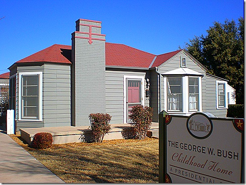 Bush home outside 4