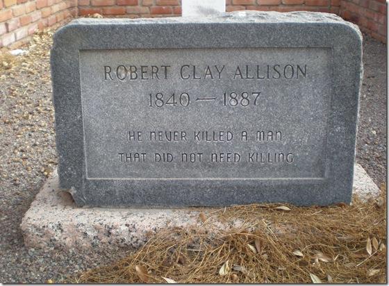 Clay Allison grave 6