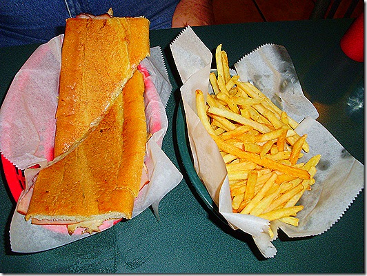 Cuban and fries