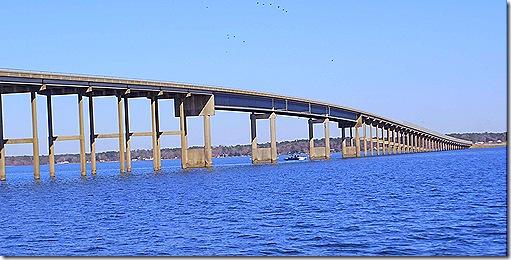 Lake Livingston bridge 3