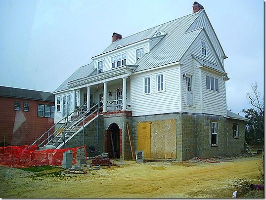 Rebuilding house