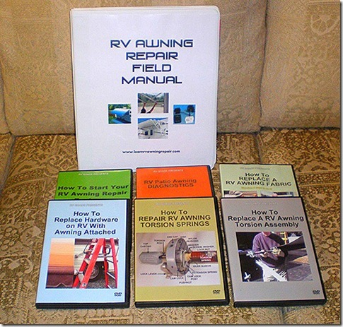 RV Awning Repair DVDs