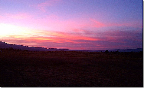 Verde Valley sunset