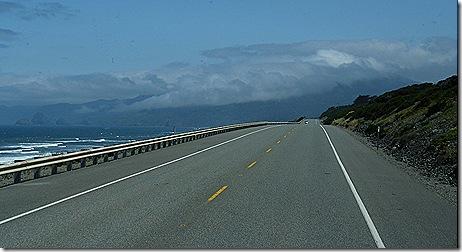 Fog over Highway 101