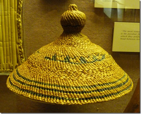 Woven Indian hat