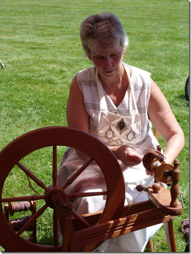 Pam Smith spinning 3