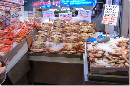 Pike Place seafood