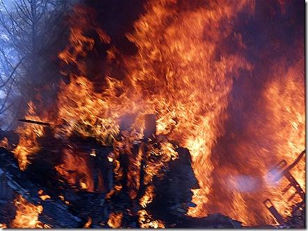 RV fire