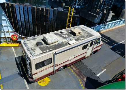 RV on ferry