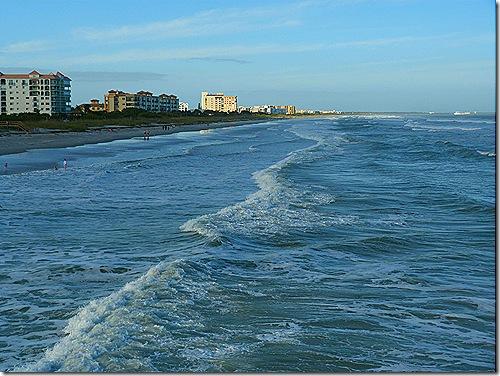 Cocoa Beach scene